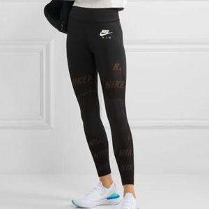 Nike Air Perforated Crop Leggings